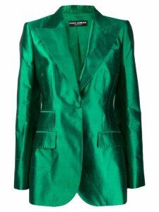 Dolce & Gabbana Balmaccan blazer - Green