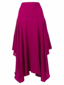 Stella McCartney asymmetric skirt - Purple