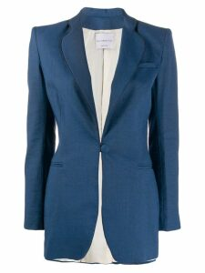 Hebe Studio smoking blazer - Blue