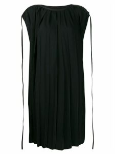 Mm6 Maison Margiela pleated dress - Black