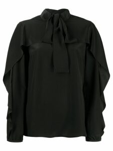 Red Valentino pussy bow blouse - Black