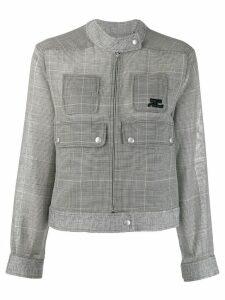 Courrèges cropped jacket - Black