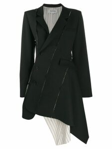 Monse asymmetric hem coat - Black