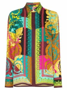 Versace Baroque print silk shirt - Multicolour