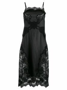 Dolce & Gabbana satin slip dress - Black