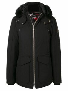 Moose Knuckles short padded coat - Black