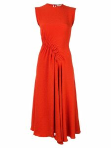 Edeline Lee Pina midi dress - Red