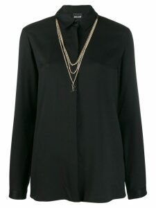 Just Cavalli chain shirt - Black