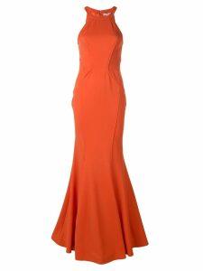 Zac Zac Posen Lisa mermaid gown - Orange