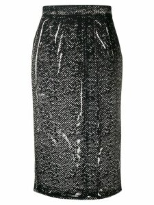 Prada fitted pencil skirt - Black