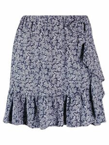 Michael Michael Kors pleated skirt - Blue