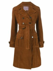 Alexa Chung belted trench coat - Brown