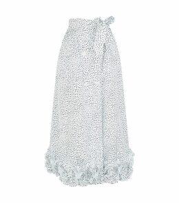 Taffeta Polka Dot Skirt