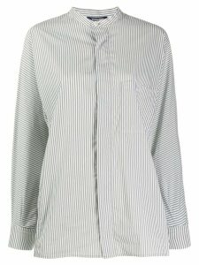 Woolrich stripe long-sleeve shirt - White
