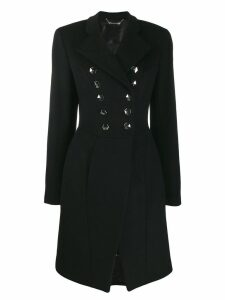 Philipp Plein double breasted coat - Black