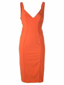 Zac Zac Posen Haley midi dress - Orange