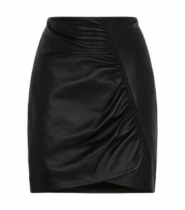 Taylor Leather Skirt