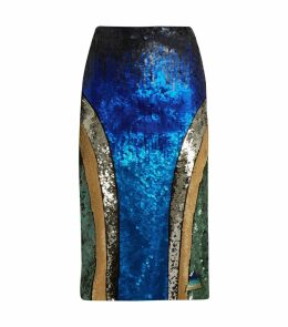 Bravo Sequin Midi Skirt