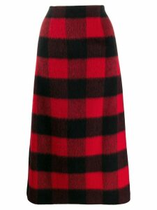 Dsquared2 check midi skirt