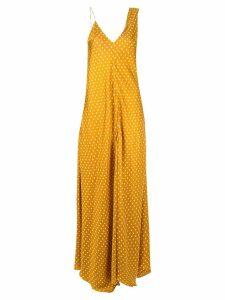 Walk Of Shame Sienna polka dot dress - Yellow