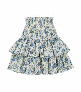 Floral Ruffle Skirt