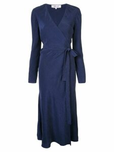 Diane von Furstenberg wrap midi dress - Blue