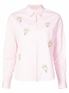 Jimi Roos striped shirt - Pink