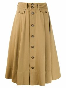 Polo Ralph Lauren button down skirt - Neutrals