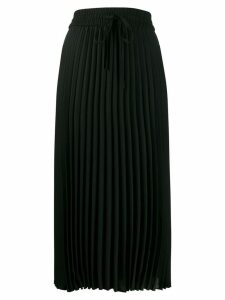 Red Valentino pleated skirt - Black