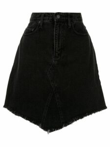 Nobody Denim Eclipse denim skirt - Black