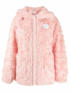 Miu Miu shearling coat - Pink