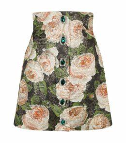 Gemstone Jacquard Skirt