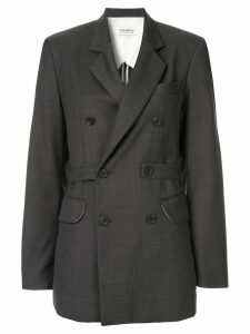 Kimhekim double-breasted blazer - Grey