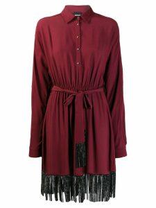 Just Cavalli tassel detail dress - Red