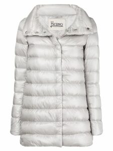 Herno zipped padded coat - Grey