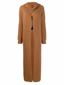 Just Cavalli long-length coat - Brown
