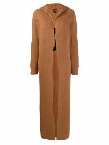 Just Cavalli long-length coat - Brown
