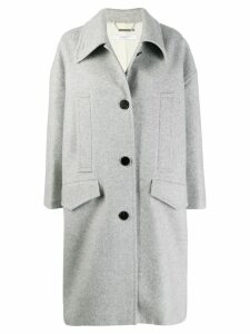 Givenchy single breasted coat - Grey