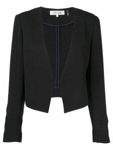 Diane von Furstenberg classic fitted blazer - Black
