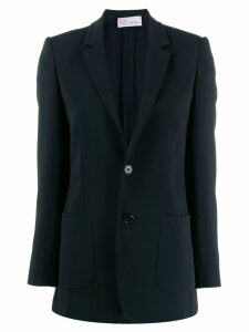 Red Valentino classic slim fit blazer - Black
