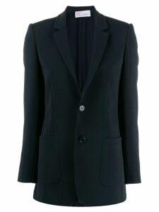 Red Valentino classic slim fit blazer - Black