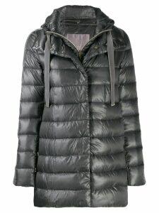 Herno padded hooded jacket - Grey