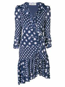 Dvf Diane Von Furstenberg polka-dot shift dress - Blue
