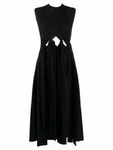 Ports 1961 knot detail sleeveless dress - Black