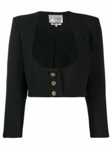 Carmen March cropped blazer - Black