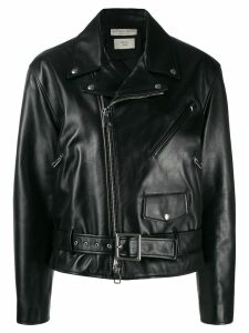Bottega Veneta biker jacket - Black