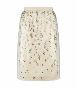 Jewelled Pencil Skirt