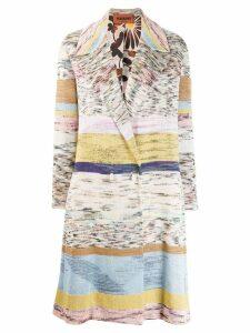 Missoni fine knit coat - Neutrals