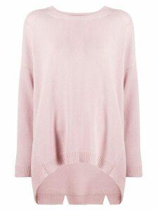 Valentino oversized cashmere knit jumper - Pink