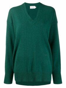Calvin Klein plain jumper - Green